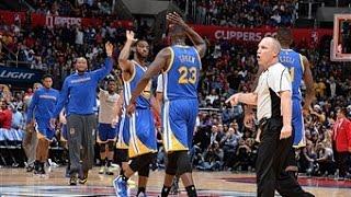 NBA: Warriors Erase 23 Point Deficit in Los Angeles