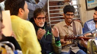 Amitabh Bachchan Travelled in Mumbai local to Support Cancer Patients | Vscoop