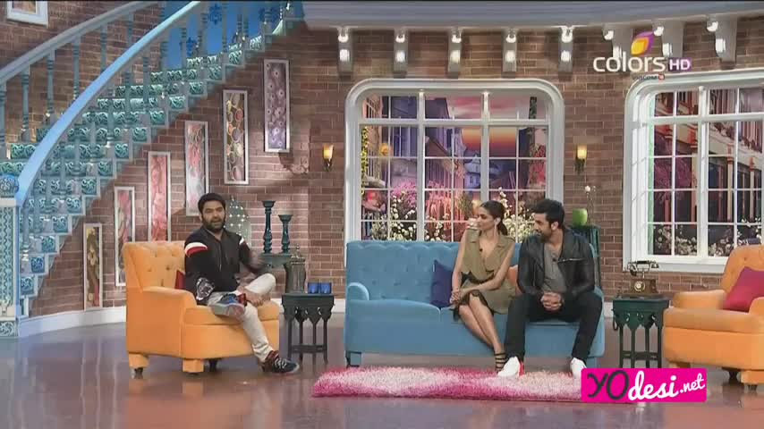 Comedy Nights with Kapil - Ranbir Kapoor & Deepika Padukone promotes Tamasha - 22nd Nov 2015 - Part 2/4