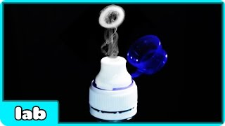 How To Make Smoke Rings Without Dry Ice Smoke Ring Launcher || Science Experiment