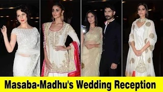 Sonam Kapoor, Alia Bhatt,Shahid Kapoor Celebs Masaba Gupta Madhu Matena Reception Party