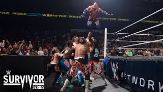 WWE Network: 5-on-5 Traditional Survivor Series Elimination Match: Survivor Series 2015