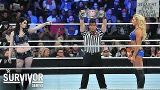 WWE Network: Charlotte vs. Paige: WWE Survivor Series 2015