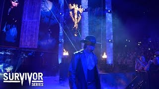 WWE Network: The Undertaker enters Philips Arena on a historic night: Survivor Series 2015
