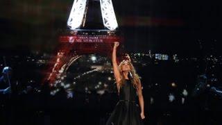 Celine Dion Sings for Paris