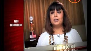 Short Story - Avoid Overconfidence - Rita Gangwani (Personality Architect) - Minute Of Motivation