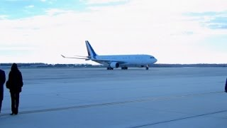 French Pres. Hollande Arrives At Andrews
