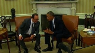 Obama, Hollande Meet To Discuss Fight Against IS