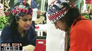 Rishabh Sinha $exually Harrases Priya Malik | Bigg Boss 9 Double Trouble 24th November 2015 Episode