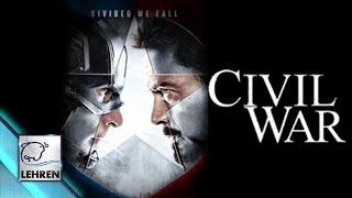 Captain America: Civil War Official Trailer   Chris Evans, Robert Downey   RELEASED