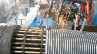 Pvc Duct Hose making 12 inch(300mm)