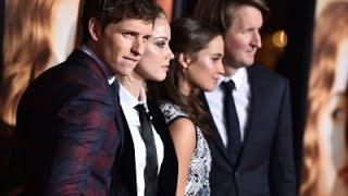 Redmayne Reveals How He First 'Met' Lily