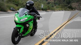 Kawasaki Ninja 300 ABS - Entry Sport Shootout