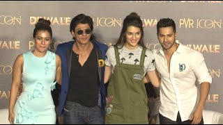 Shah Rukh, Kajol, Kriti, Varun launch 'Dilwale' song, 'Manma Emotion Jaage'