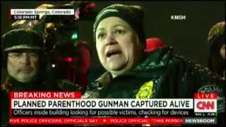 Robert Lewis Dear - Planned Parenthood Shooting: Gunman Captured Alive, At Least 11 Victims Including 5 Police Officers