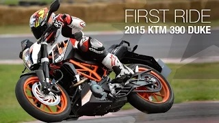 KTM 390 Duke First Ride