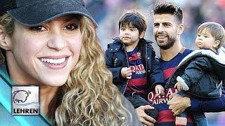 Awww!! Shakira's Sons Sasha & Milan Support Dad Gerard Pique | FC Barcelona