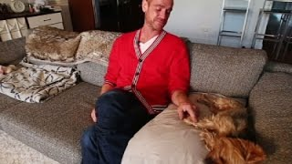 HIV-Positive Dr. Showcases Healing Power Of Dogs