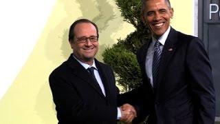 Obama Arrives at Paris Climate Summit