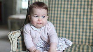 Cuteness Alert: See PRINCESS CHARLOTTE's Royal Pics