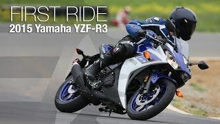 Yamaha YZF - R3 First Ride