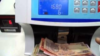 TALKING VALUE NOTE COUNTING MACHINE ALONG WITH THE FAKE NOTE DETECTOR- PARAS