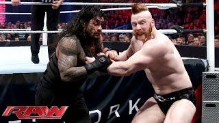 Roman Reigns vs. Sheamus - WWE World Heavyweight Championship Match: WWE Raw, November 30, 2015