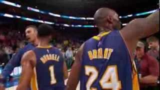 NBA: Kobe Bryant Says Goodbye to Philly