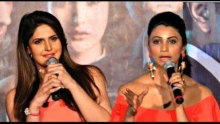 Hate Story 3 Hotties Zarine Khan & Daisy Shah CAT-FIGHT!