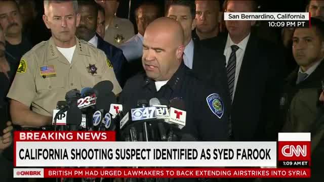 Police: Suspects identified in San Bernardino shooting