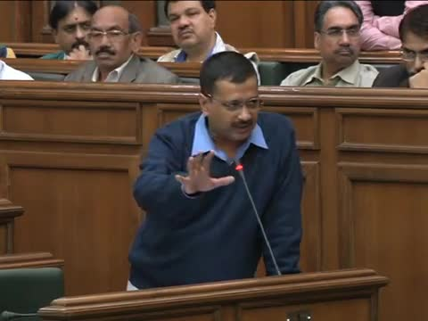 Delhi CM Arvind Kejriwal Speaks about how Delhi Govt will work For Contract Employess