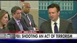White House goes silent on terrorism in California