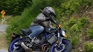 Yamaha FZ-07 First Ride