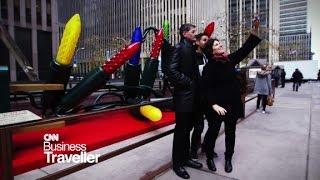 Business Traveller - Christmas in New York