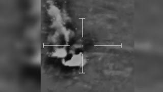 Raw: British Airstrike in Syria
