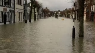 Raw: Rescue Teams Called as Floods Hit England