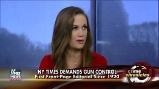 Are media pushing gun control?
