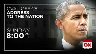 President Obama to deliver rare Oval Office address