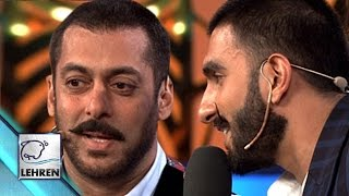 Salman Khan Plays 'Bajirao' On Bigg Boss 9 | Bajirao Mastani | Ranveer Singh