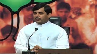 Total jungle raaj in Assam, BJP will oust Congress: Shahnawaz Hussain