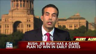 George P. Bush denies report Bush donors are getting nervous