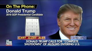 Trump: Cross-section of Muslims 'have animosity' for U.S.