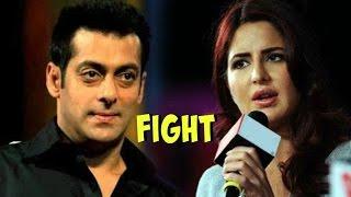 Salman Khan And Katrina Kaif UGLY FIGHT Revealed