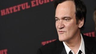 Tarantino Slams Trump's 'Ridiculous' Comments
