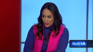 Actress Tia Mowry share her tips for avoiding the flu