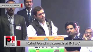 Rahul Gandhi: My idea of Make In India and PM Modi's is very different.