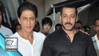 Salman-Shahrukh Posed TOGETHER For Media After Ages