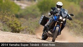 Yamaha Super Tenere First Ride