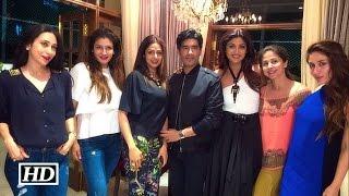 Kareena, Karisma & Shilpa's Crazy Masti At Manish Malhotra's B'day Bash - Inside Video