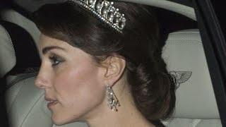KATE MIDDLETON Stuns Wearing PRINCESS DIANA's Tiara